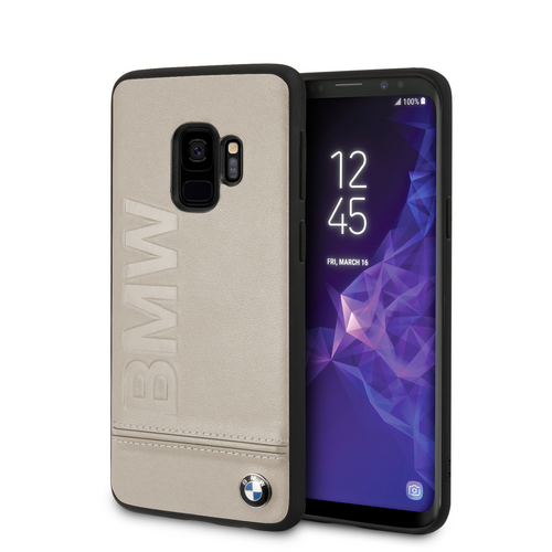 Funda Case Bmw Signature Logo Imprint Hard Galaxy S9 - ForwardContigo