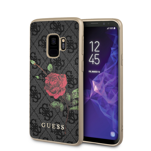 Funda Case Guess Negra Y Rosa Roja Samsung S9 - ForwardContigo
