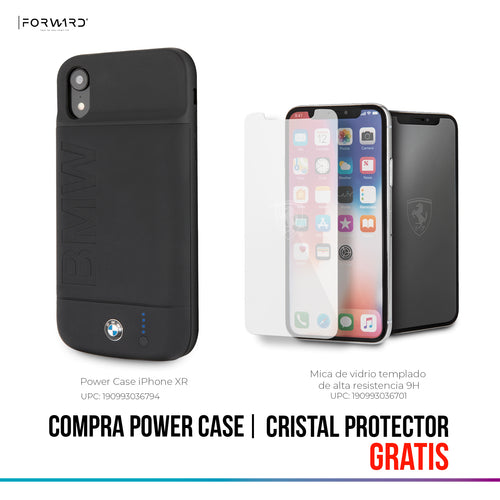 Power Case BMW Negro 3600 mAh iPhone Xr