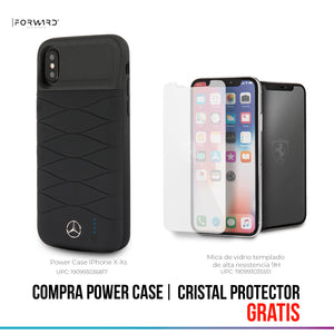 Power Case Mercedes Benz Negro 3600mha iPhone X/xs