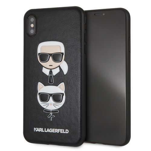 Case Funda Karl y Choupette Negra iPhone XS Max. - ForwardContigo