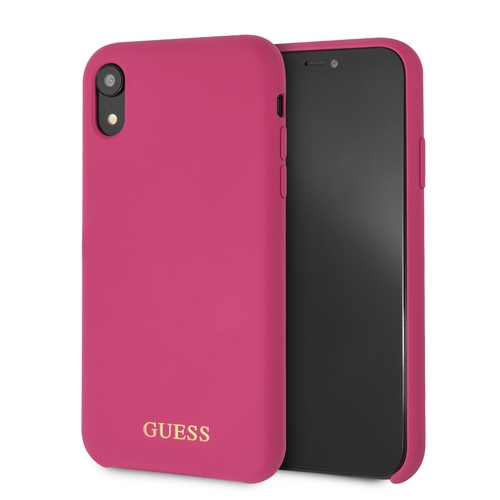 Case Funda Guess silicon Rosa iPhone XR - ForwardContigo
