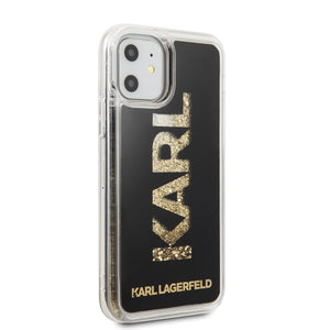 Funda Case Karl Lagerfeld TPU Glitter Negro iPhone 11