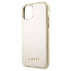 Funda Case Tipo Piel Guess Beige iPhone 11 Pro Max - ForwardContigo