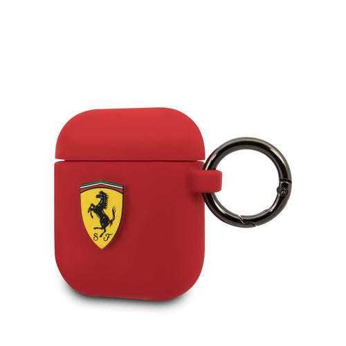 Case AirPods Ferrari Rojo - ForwardContigo