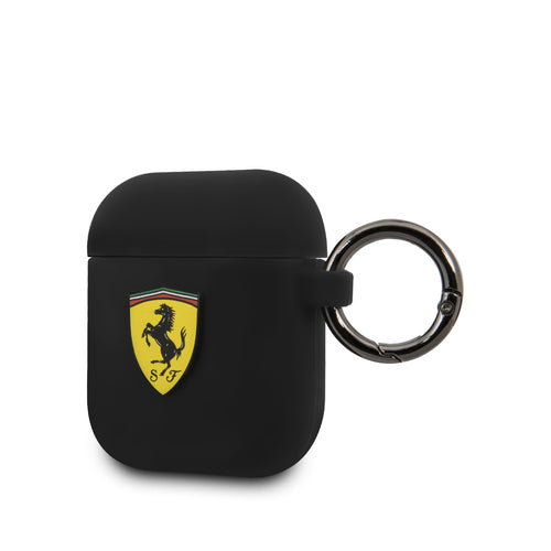 Case AirPods Ferrari Negro - ForwardContigo