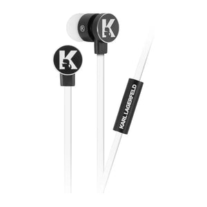 Audifonos Alambricos Karl Lagerfeld Blancos - ForwardContigo