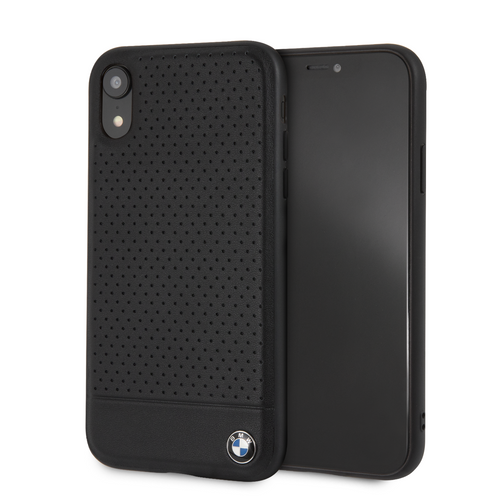 Funda Case Pu/pc Bmw Firma Negro Para iPhone Xr - ForwardContigo