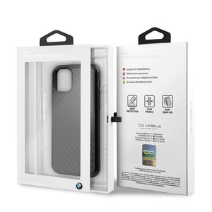 Case Funda BMW Fibra de Carbono iPhone 11 PRO MAX - ForwardContigo