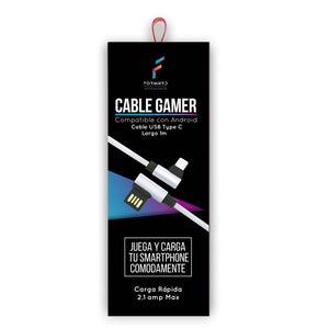 Cable Gamer Type C - ForwardContigo