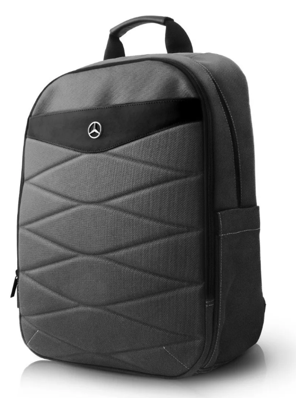 Backpack Mochila Urban Mercedes Benz Gris - ForwardContigo
