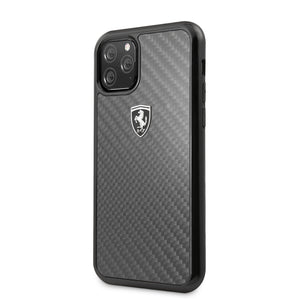 Case Funda Ferrari fibra de carbono iPhone 11 Pro