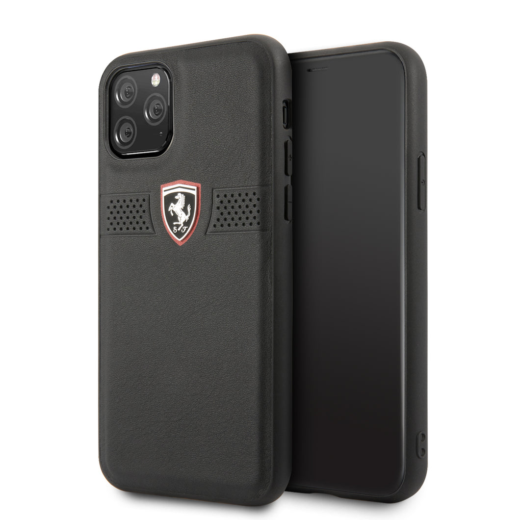 Funda Case Piel Ferrari Perforado iPhone 11 PRO - ForwardContigo