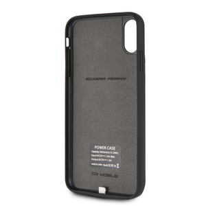 Power Funda Case Ferrari Negra 4000mha iPhone Xs Max