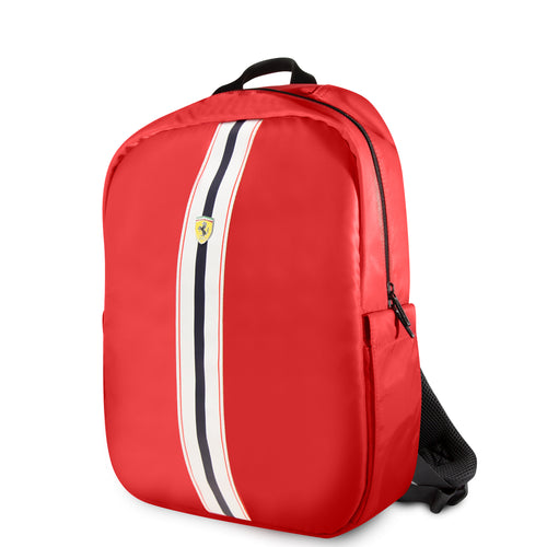 Mochila Back pack Ferrari Pista Metal Logo On Track 15