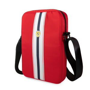 "Urban Bolso iPad Ferrari Pista Metal Logo On 10"" Rojo"