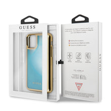 Cargar imagen en el visor de la galería, Funda Case Guess Degradada Gold&blue iPhone 11 Pro - ForwardContigo
