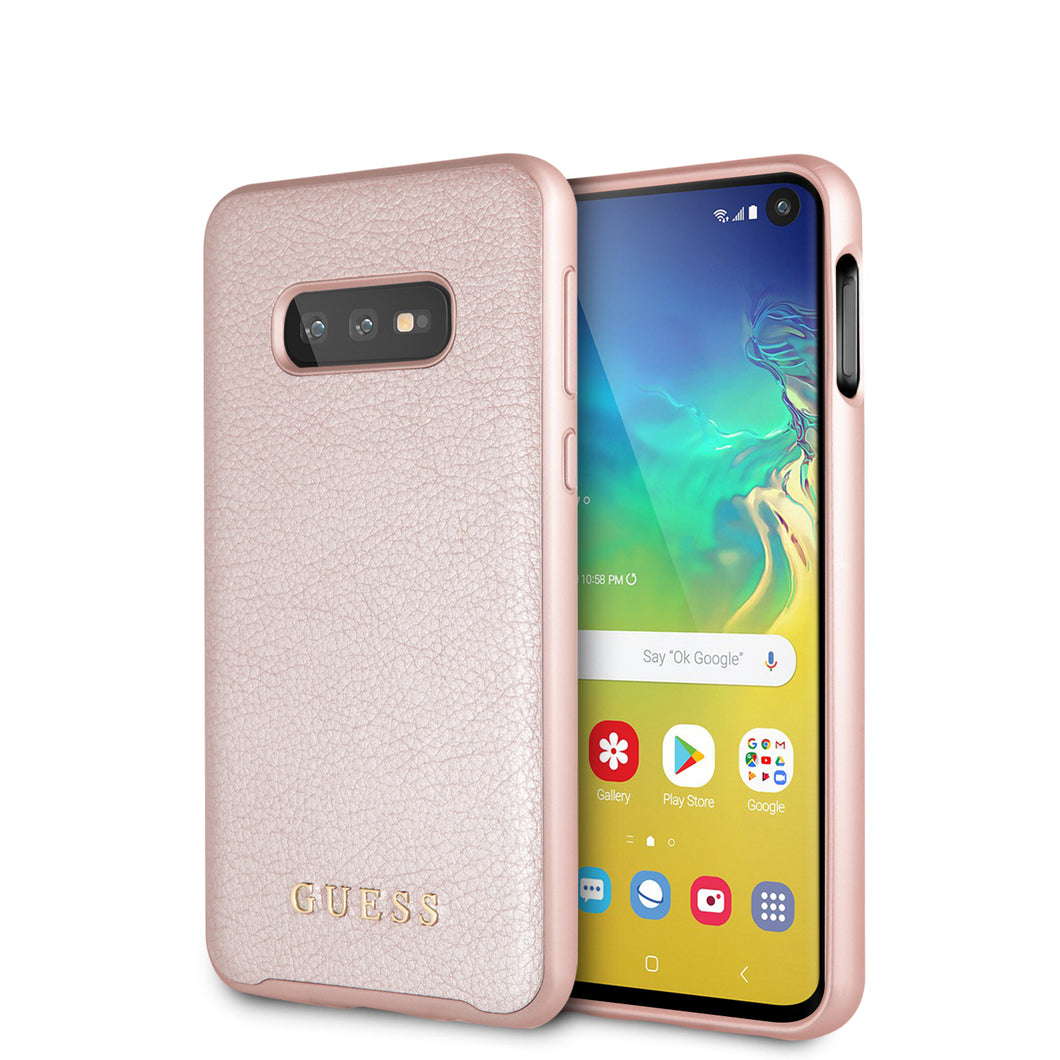 Funda Case Tipo Piel Guess Rosa Para Samsung S10 Lite - ForwardContigo