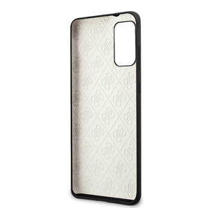 Case/Funda GUESS silicon Logo 4G  Negro Samsung S20 Plus