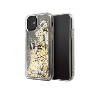 Case Funda Karl Lagerfeld Brillos Dorados  iPhone 11
