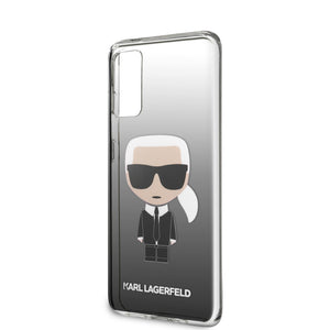 Case Funda Karl Lagerfeld TPU degradado negro Samsung galaxy S20 - ForwardContigo