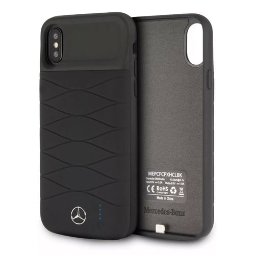 Power Case Mercedes Benz Negro 3600mha iPhone X/xs - ForwardContigo