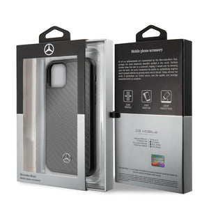 Case Funda Mercedes Benz Negro iPhone 11 Pro - ForwardContigo