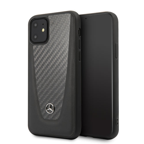 Funda Case Carbono Mercedes Benz iPhone 11 Pro - ForwardContigo