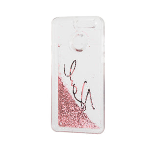 Funda Case Firma Karl Brillo Liquido Rosa HUAWEI P10 SELFIE - ForwardContigo