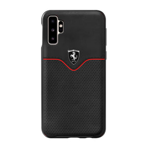 Case Funda Ferrari Victory Piel Negra Samsung Note 10 - ForwardContigo