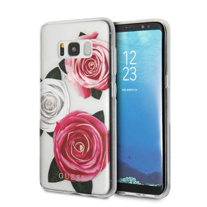 Funda Case Guess Cristal Y Rosas Sam S8 - ForwardContigo