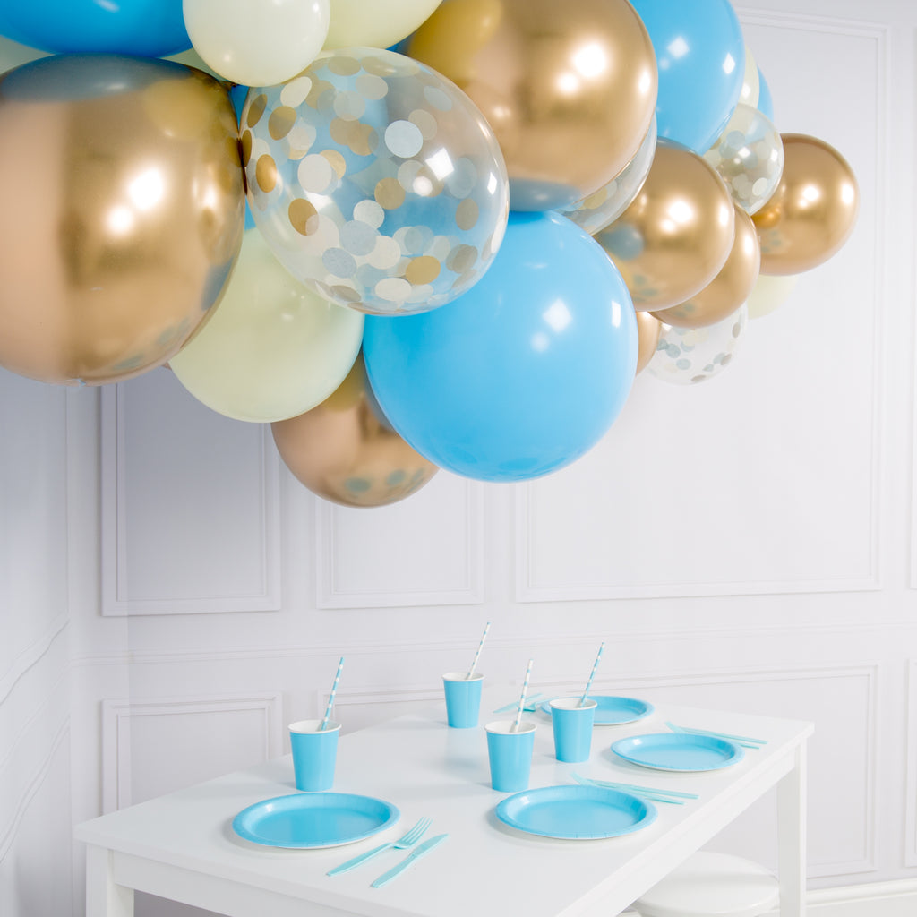 Ballongsky DIY kit Baby Blue
