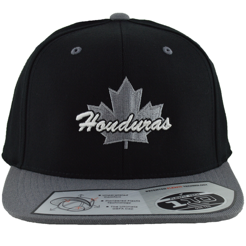 Honduras Maple Leaf Snapback | Grey X Black