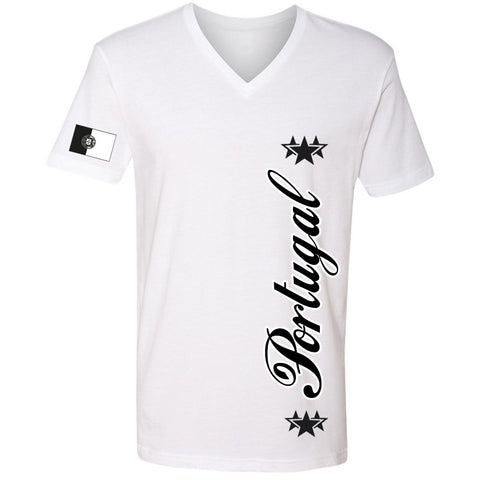 Portugal Stars Tee | Black X White