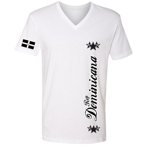 Rep. Dominicana Stars Tee | Black X White