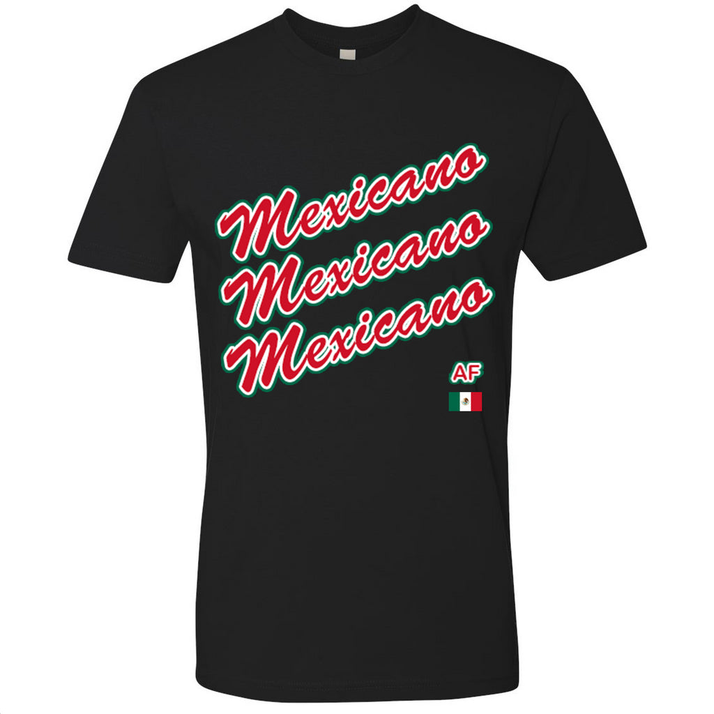 Mexicano AF Youth Tee | MEX X Black