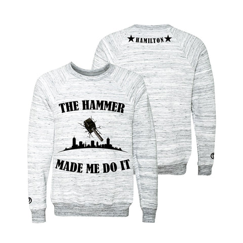 Hamilton Youth Crewneck | Black X Grey