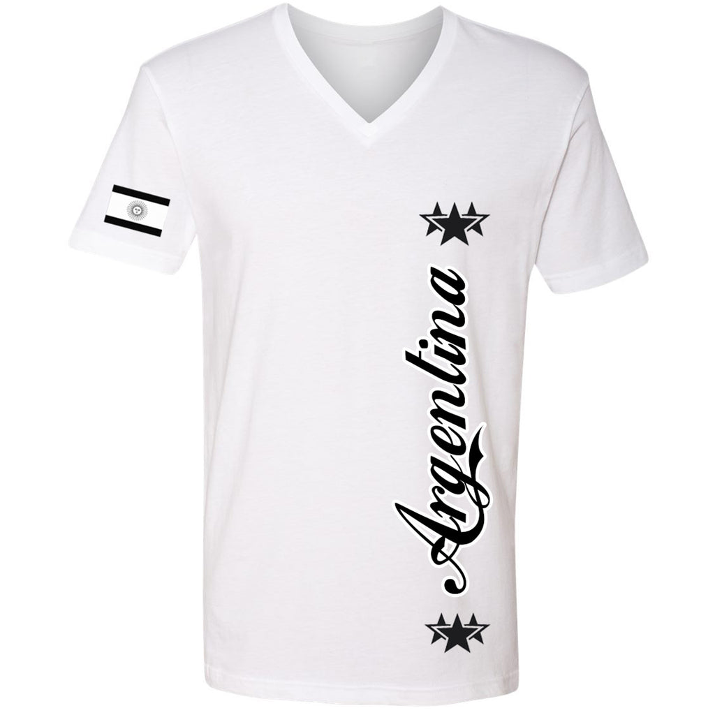 Argentina Stars Youth Tee | Black X White