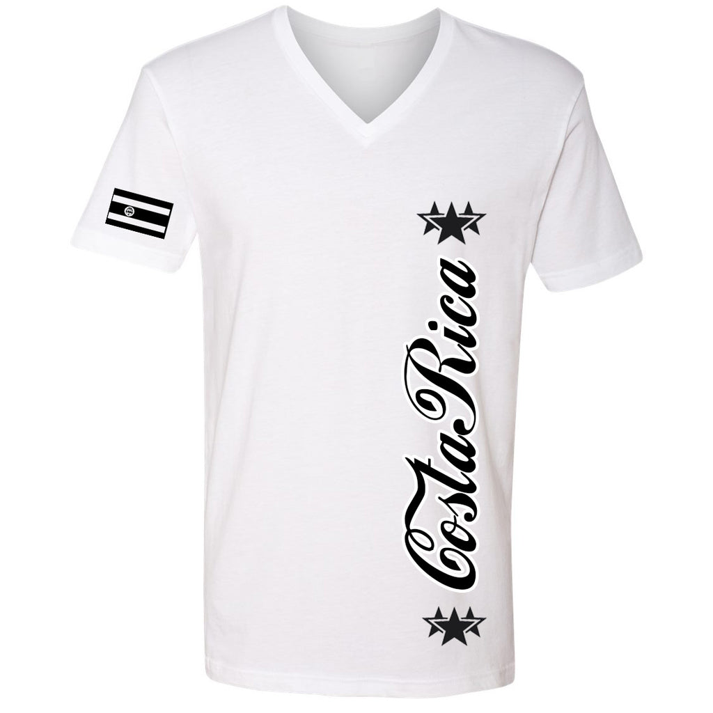 Costa Rica Stars Youth Tee | Black X White