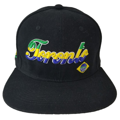Brazil Toronto Youth Snapback | Green Yellow Blue X Black
