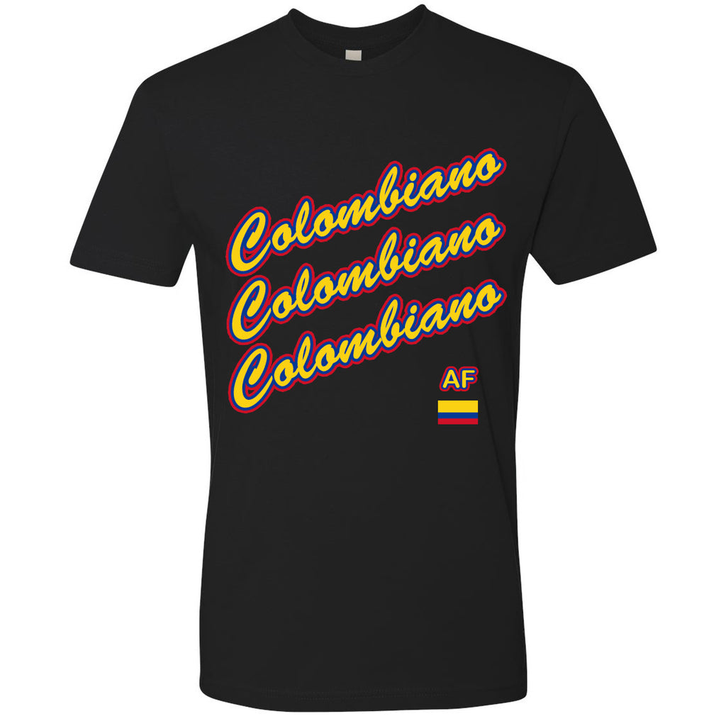Colombiano AF Youth Tee | COL X Black