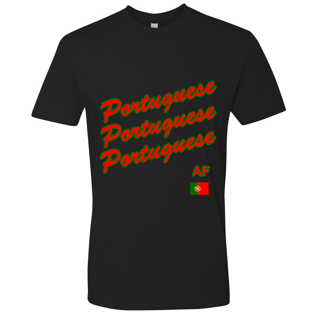Portuguese AF Youth Tee | POR X Black
