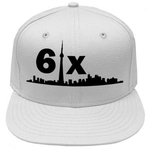 [New Era] 6ix Youth Snapback | Black X White