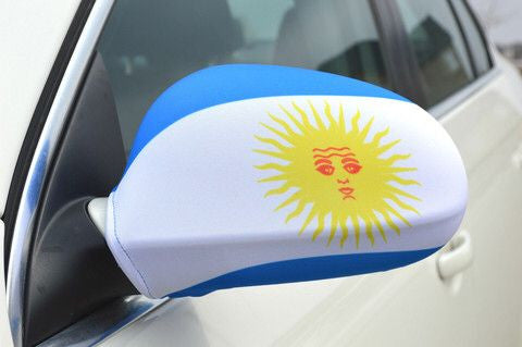 Mirror Flags (Set of 2) | Argentina