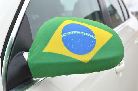 Mirror Flags (Set of 2) | Brazil