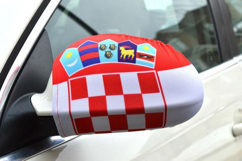 Mirror Flags (Set of 2) | Croatia