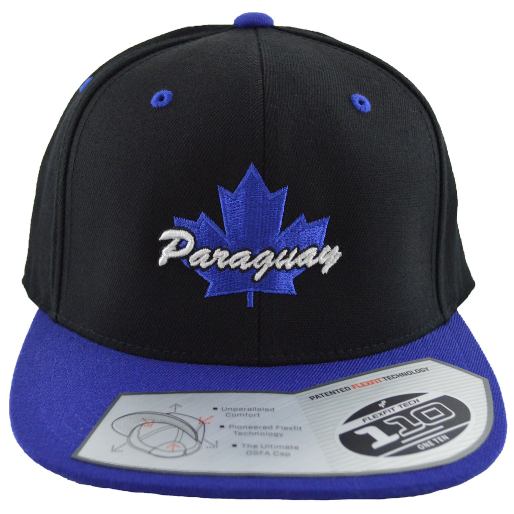 Paraguay Maple Leaf Youth Snapback | Blue X Black