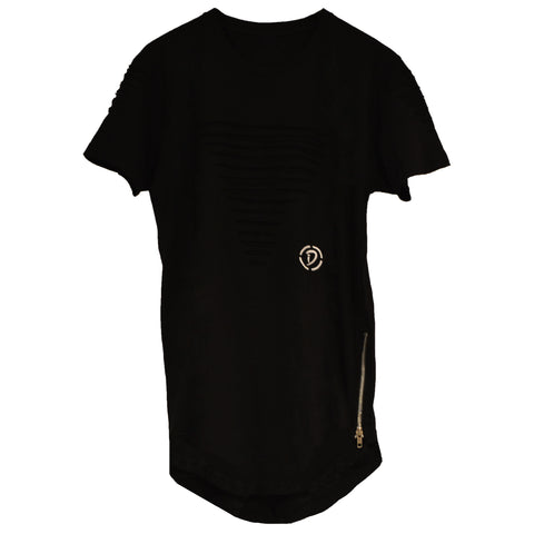Slits & Zippers (Tr) Youth Tee | Black