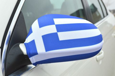 Mirror Flags (Set of 2) | Greece