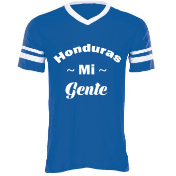 Honduras Mi Gente™ Youth Tee | White X Blue